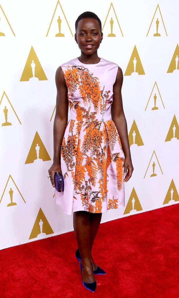 Lupita Nyong'o at the Oscars Luncheon