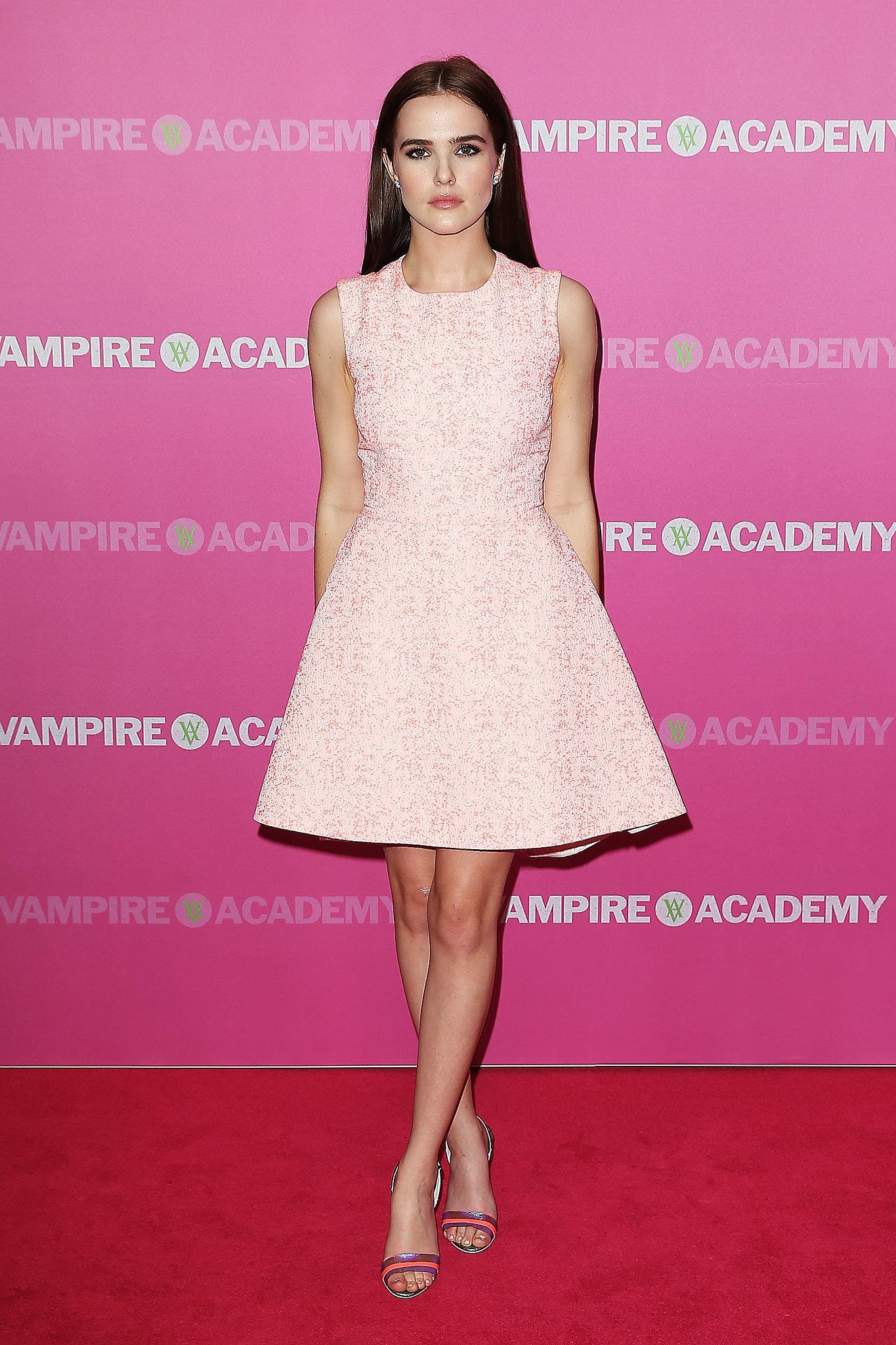 Zoey deutch vampire academy premiere