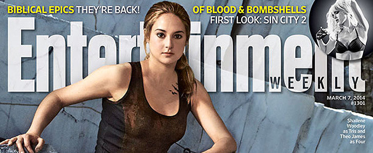Divergent Fans, Unite! Tris and Four Take Over the Cover of EW