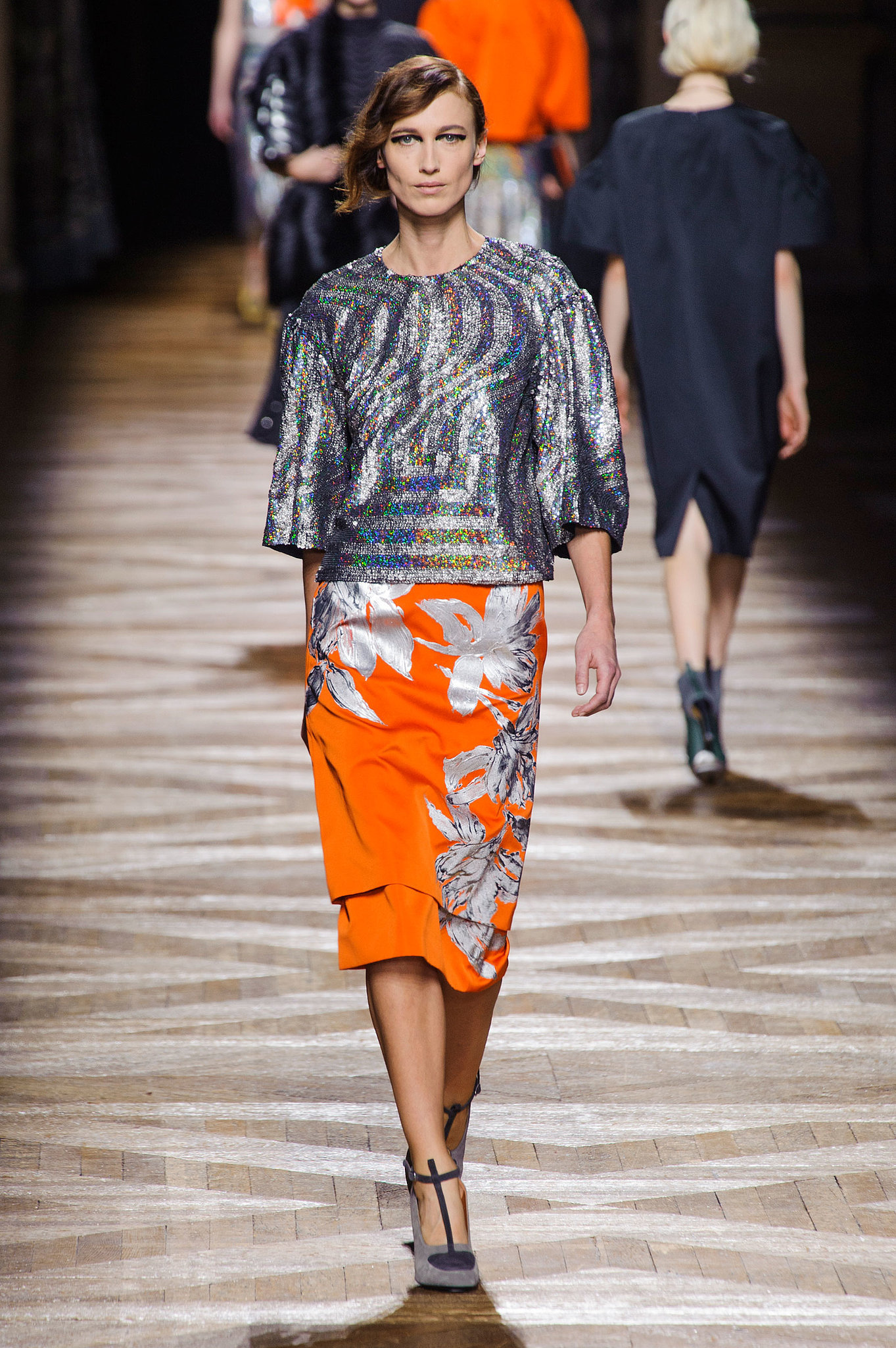 Dries Van Noten Fall 2014 | Dries Van Noten Got Pantone's Memo ...