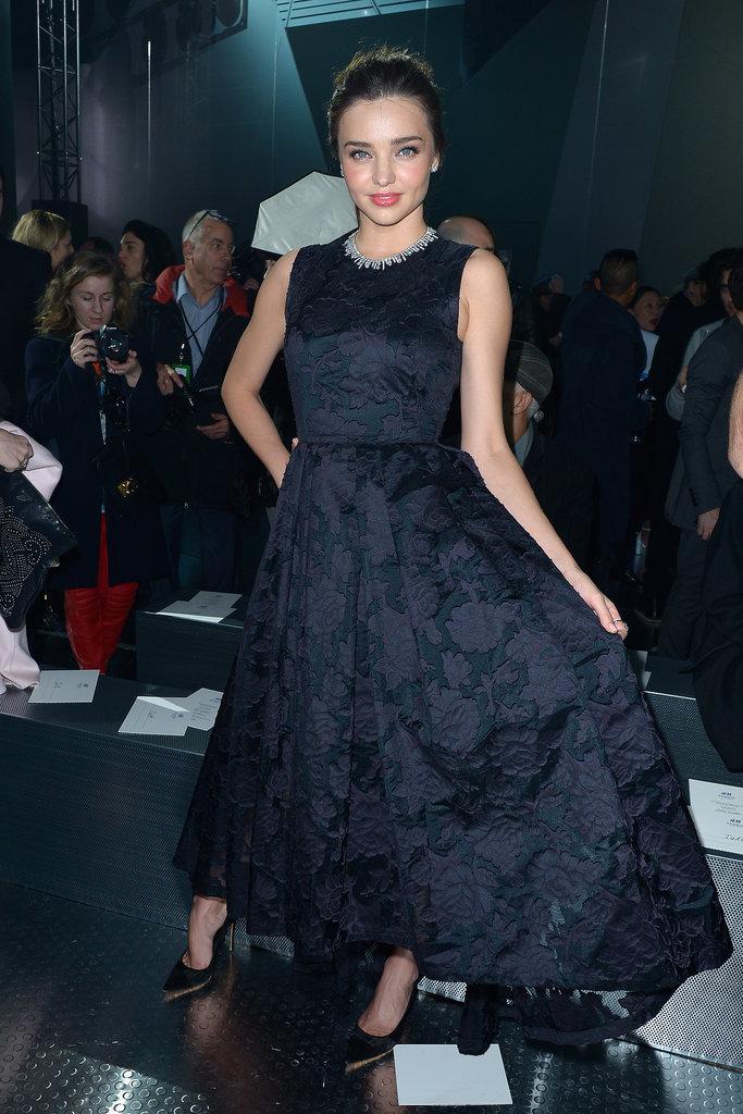 Miranda Kerr and Jessica Alba Are the Latest Front-Row Friends