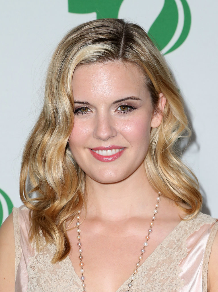 Maggie Grace at the Global Green Pre-Oscar Party