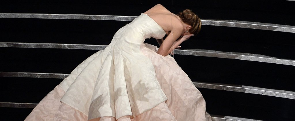 Revisit Iconic Oscars Moments — From Angelina's Leg to Jennifer's Fall