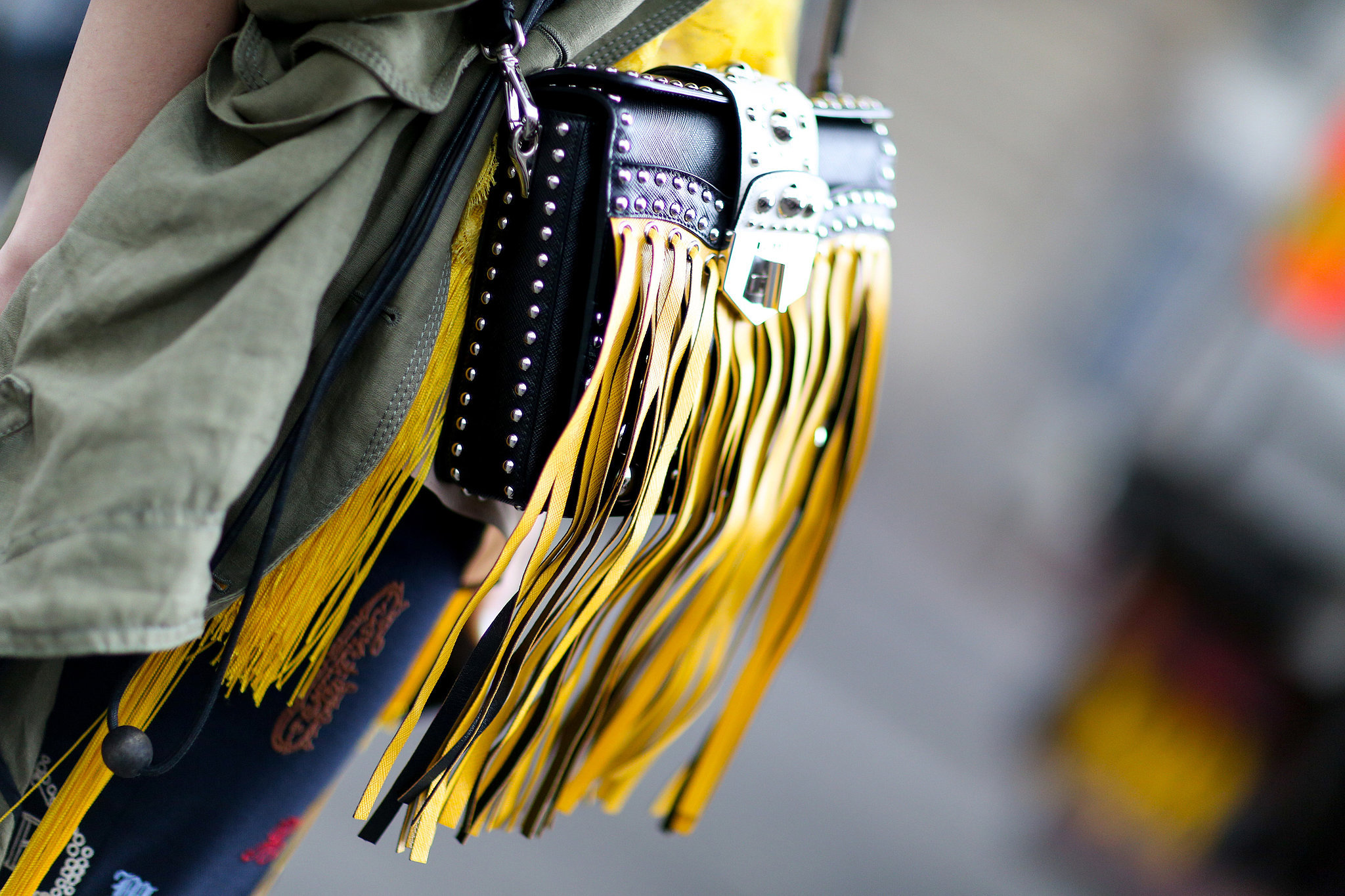 Fringed and fabulous.