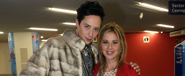 See Johnny Weir and Tara Lipinski Choose Oscars Outfits!