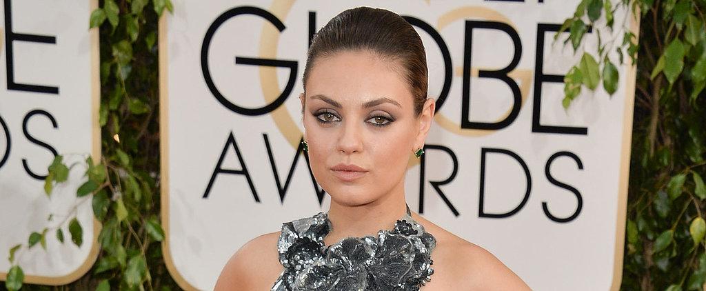 It's Likely Mila Kunis Gave Birth Wearing Her Signature Eyeliner Look