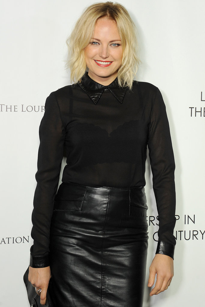 Malin Akerman, pictured, and Taissa Farmiga (American Horror Story) and will star in The Final Girls, about a girl who gets trapped in a 1980s slasher film that her mother starred in.