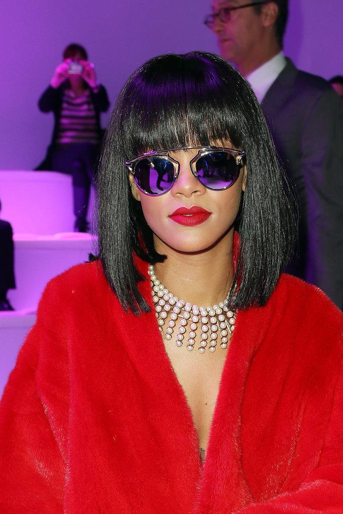 Rihanna at Christian Dior