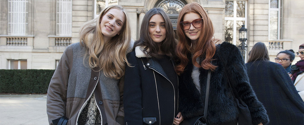 It's a Model Takeover at Paris Fashion Week