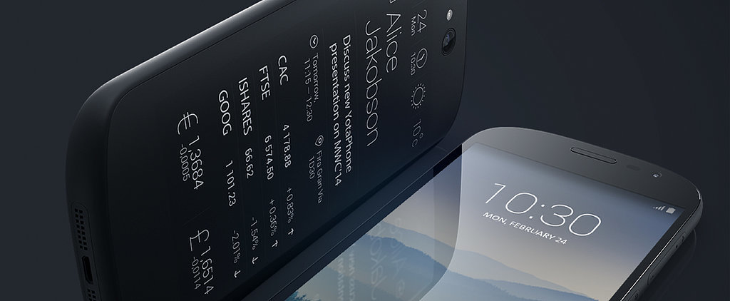 Genius! This Phone Has a Battery-Saving Eink Screen