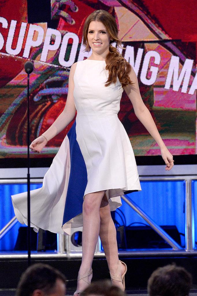 Anna Kendrick dazzled on stage.