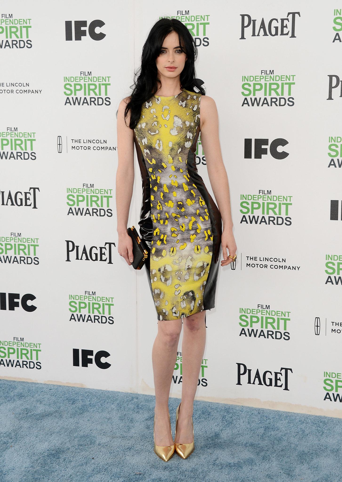 Krysten Ritter at the 2014 Spirit Awards