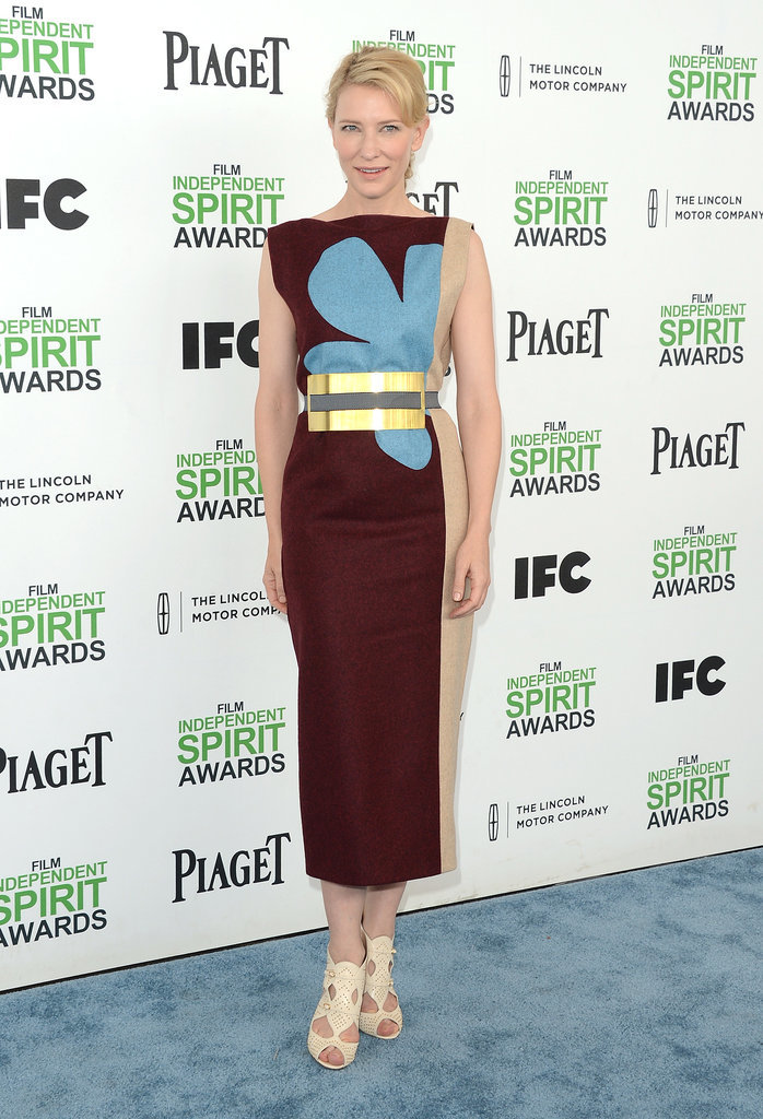 Cate Blanchett at the 2014 Spirit Awards