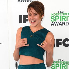 Shailene Woodley at the Spirit Awards 2014