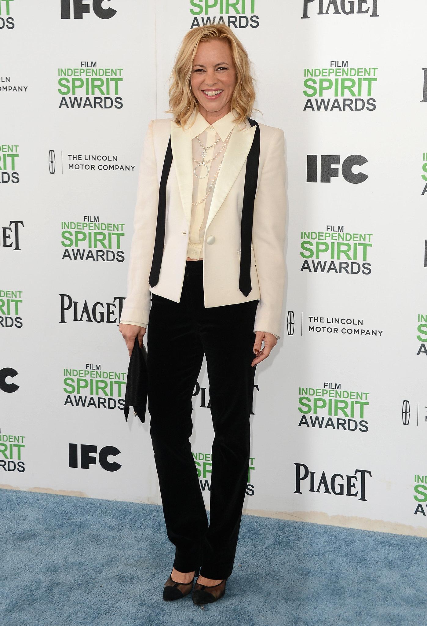 Maria Bello at the 2014 Spirit Awards