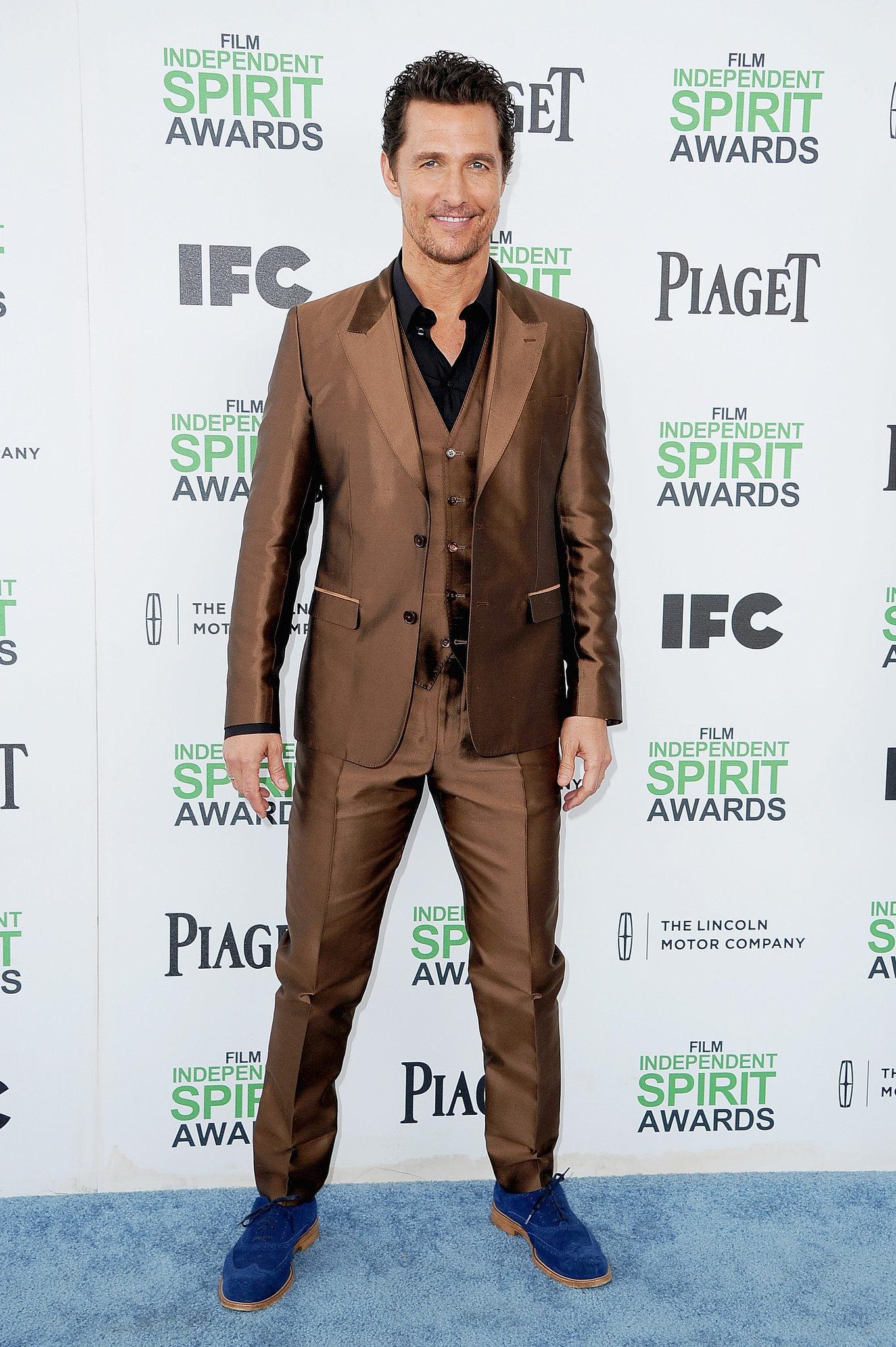 It's Already a Winning Weekend For Matthew McConaughey