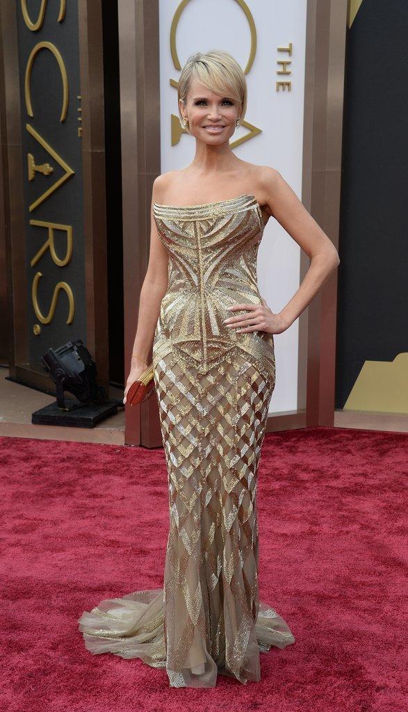 Kristin Chenoweth at the 2014 Oscars