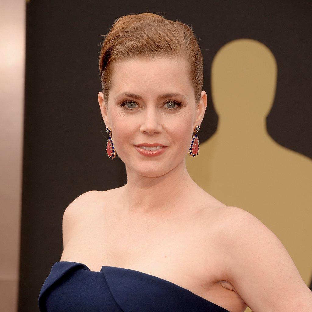 Amy Adams Hair and Makeup at Oscars 2014