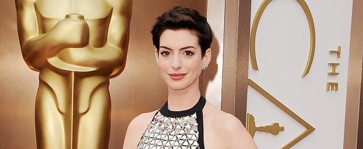 Zoom In: Anne Hathaway Has the Clearest Complexion Ever, No?