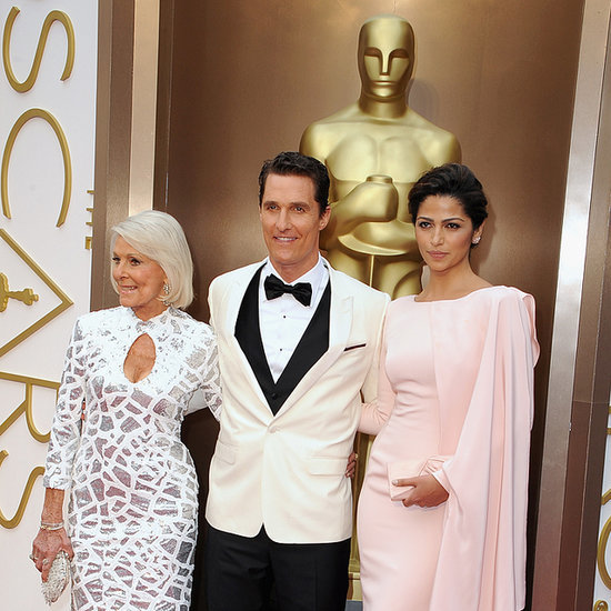Celebrities Take Their Moms to the Oscars