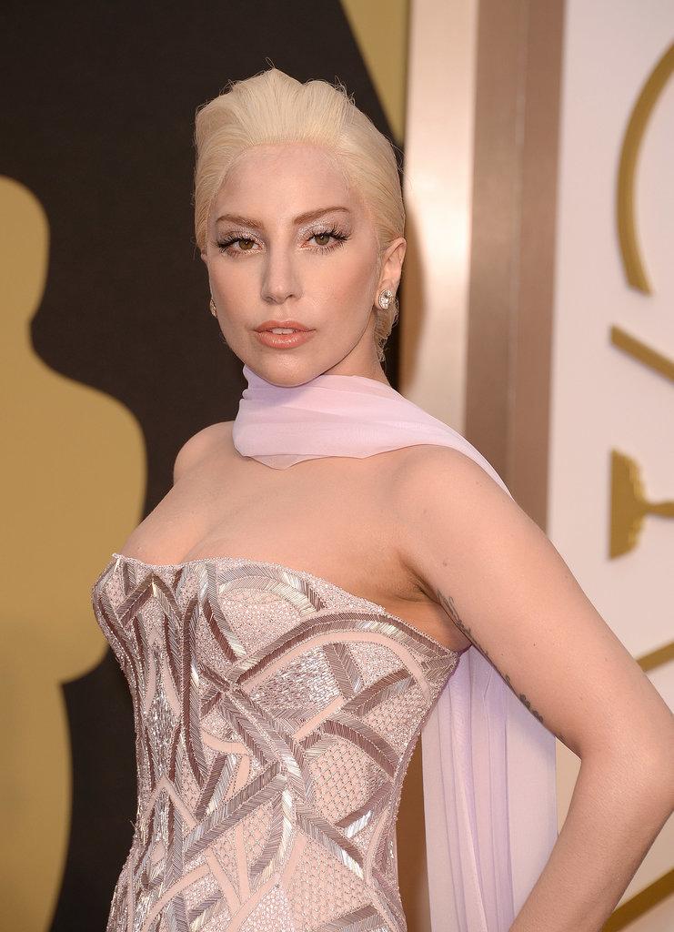 Lady Gaga at 2014 Oscars