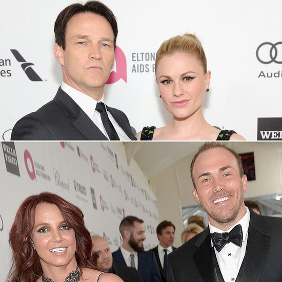 Celebrities at Elton John's Oscars Viewing Party 2014