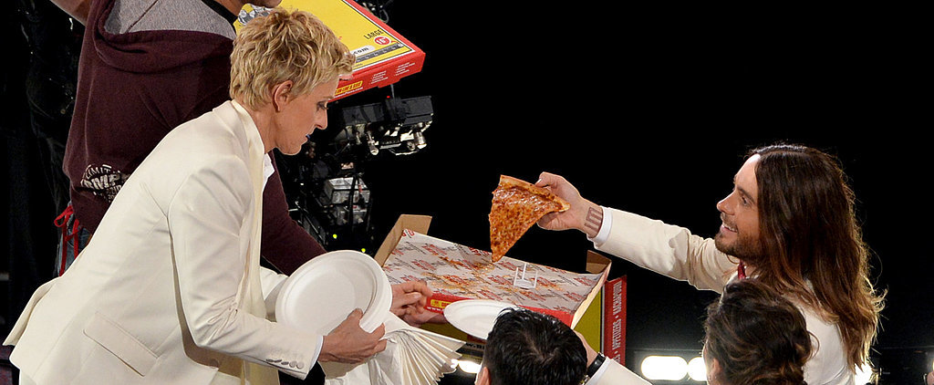 The Oscars Turned Into a Giant, A-List Pizza Party