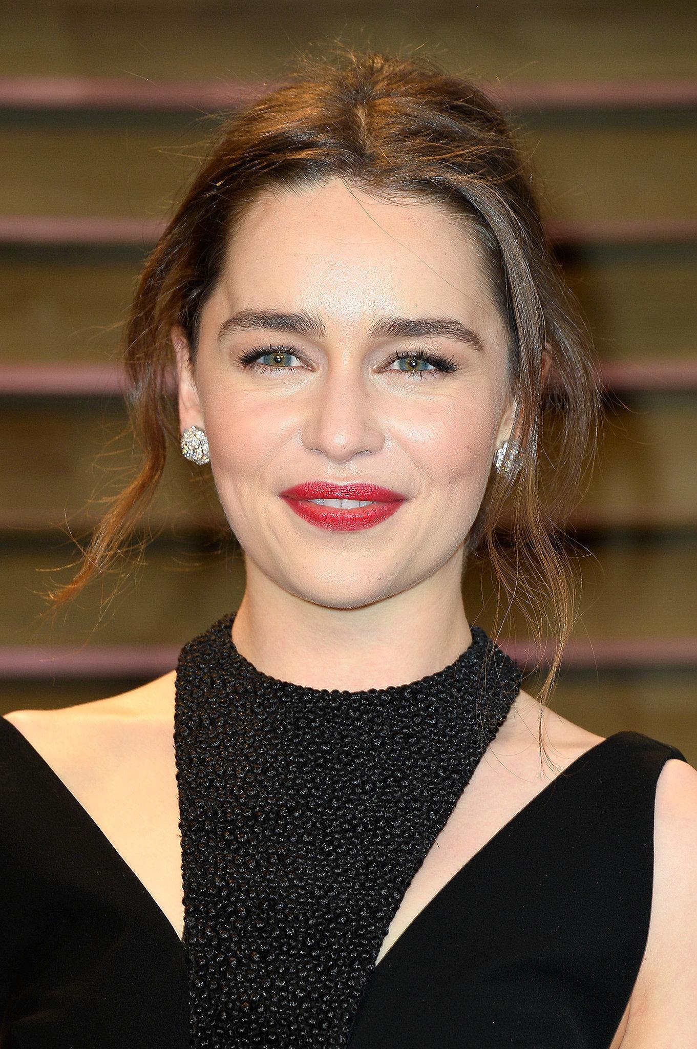Emilia Clarke at Vanity Fair Party