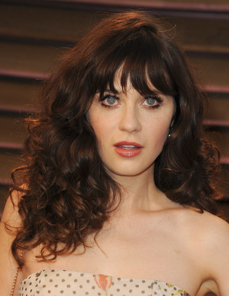 Zooey Deschanel at Vanity Fair Party