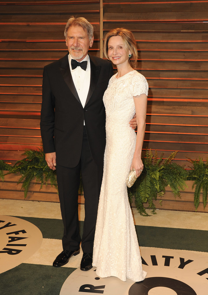 Harrison Ford and Calista Flockhart headed to the Vanity Fair party after attending the Oscars.