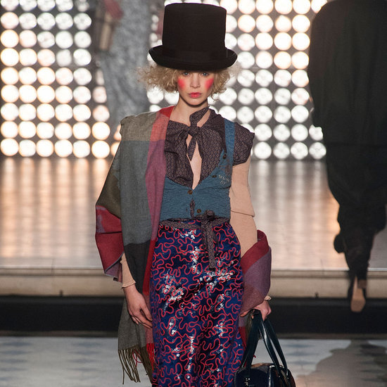Vivienne Westwood Goes For Gold in Paris
