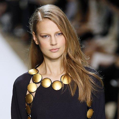 Chloé Runway Hair and Makeup Fall 2014 Paris Fashion Week