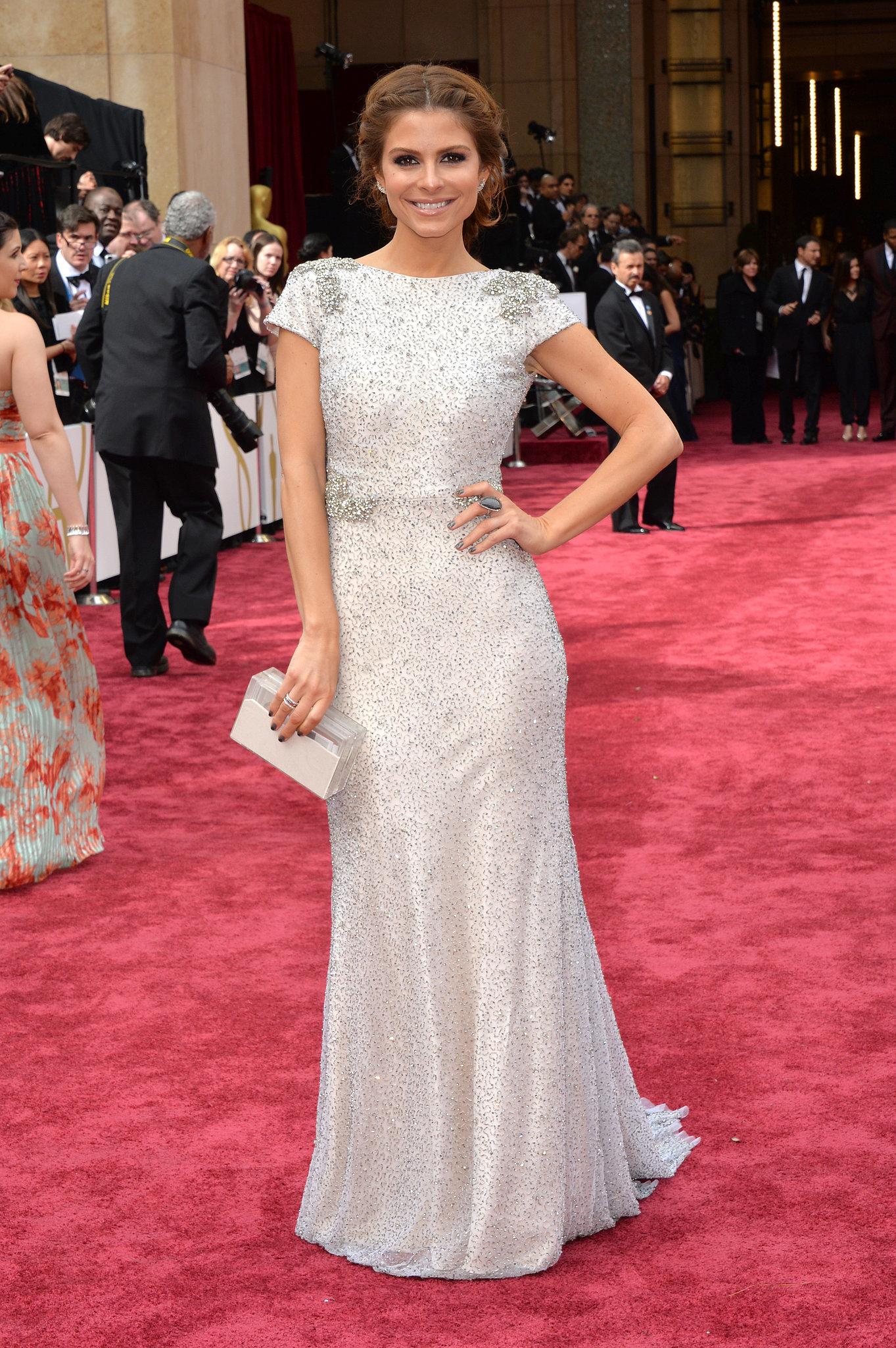 Maria Menounos at the 2014 Oscars
