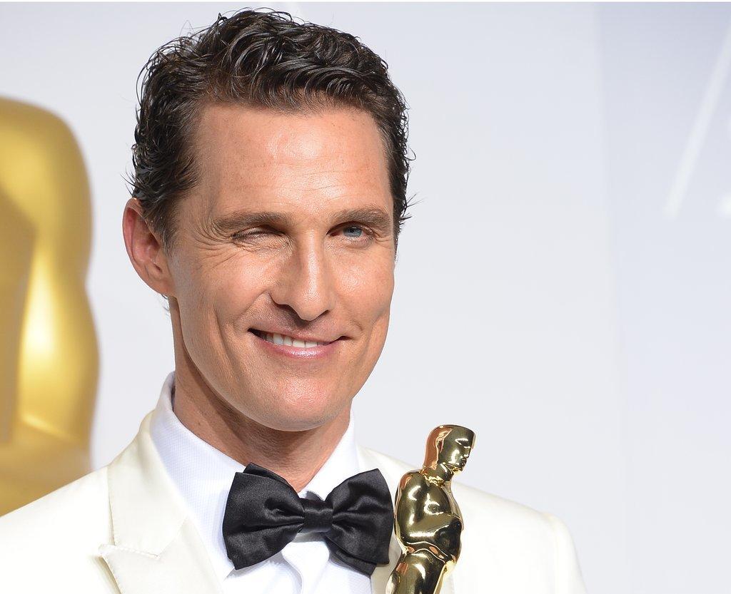 McConaughey winked. Alright, alright, alright.