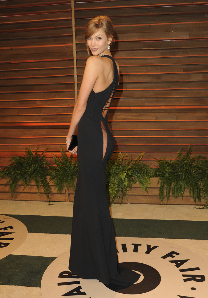Karlie Kloss stunned in black.