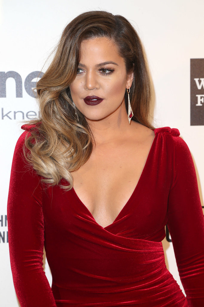 Khloé Kardashian at Elton John Party