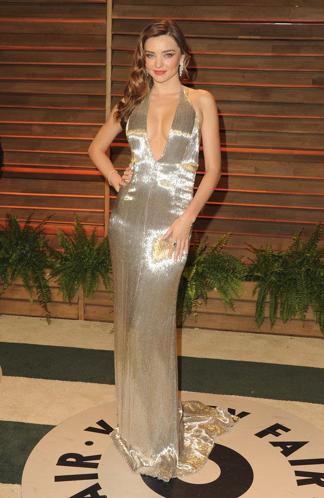 Miranda Kerr at the 2014 Vanity Fair Oscars Party