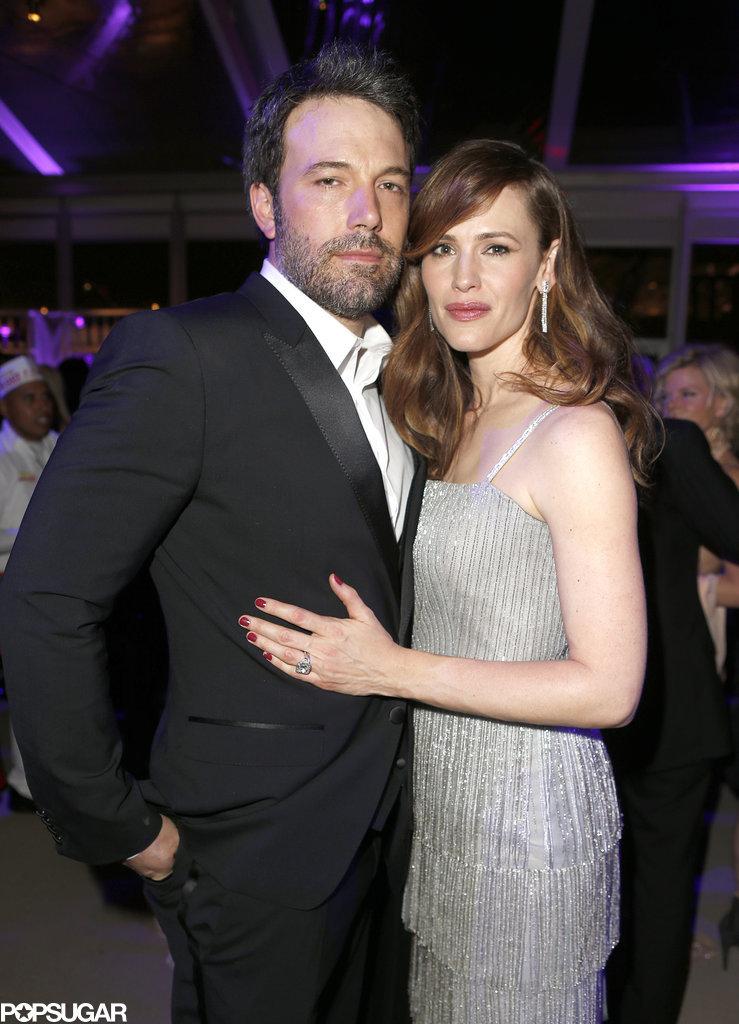 Ben Affleck and Jennifer Garner posed together for a sweet photo.