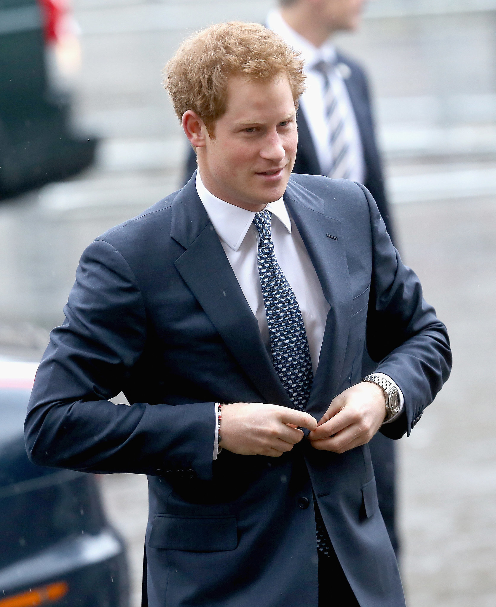 Prince Harry Represented The British Royal Family At The