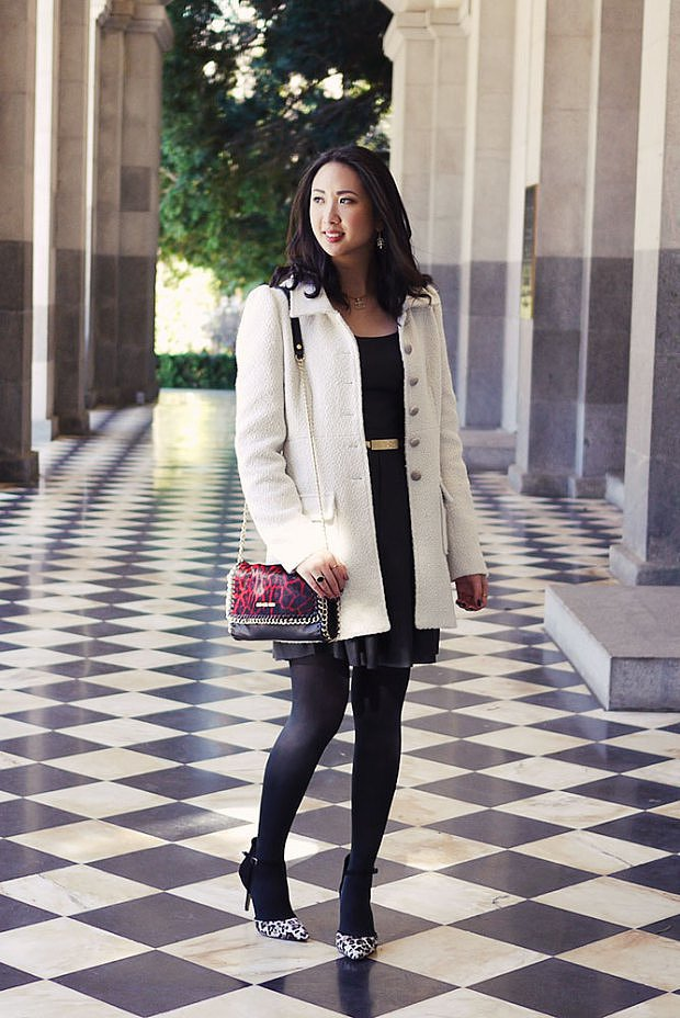 Congrats, Closet Luxe! Black and white will always be in style.