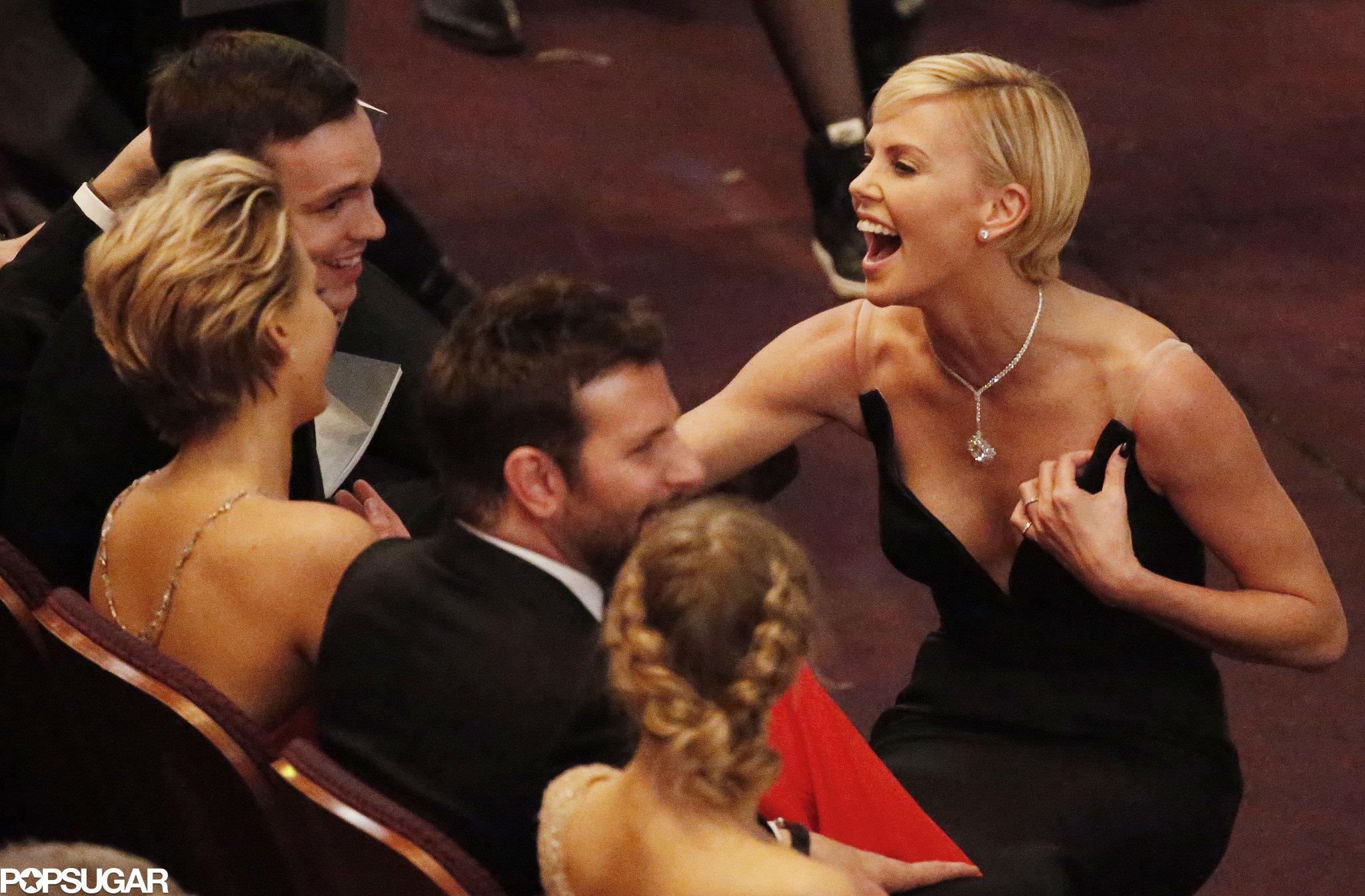 Jennifer Lawrence Brought Boyfriend Nicholas Hoult to the Oscars