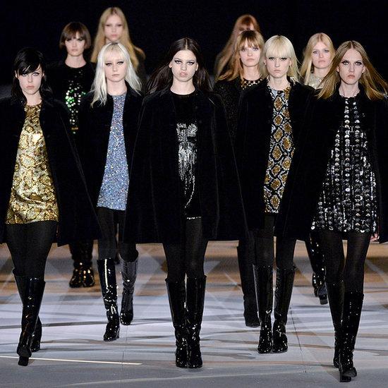 Saint Laurent 2014 Autumn Winter Paris Fashion Week