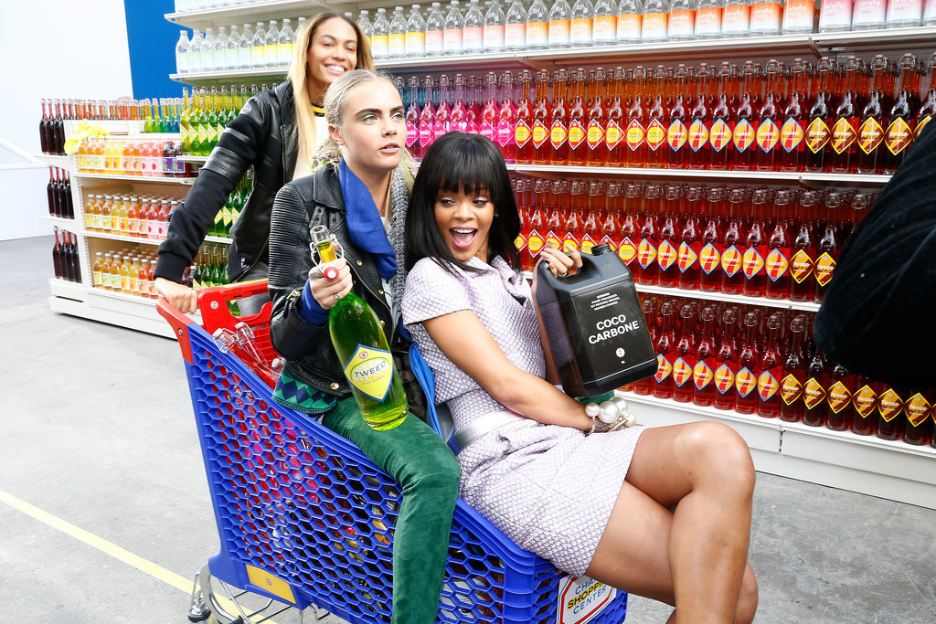 Chanel Brings Out the Stars . . . and Their Shopping Carts