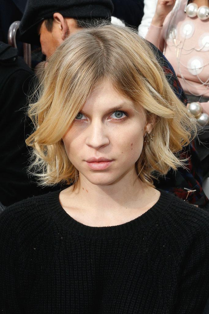 Clémence Poésy at Chanel
