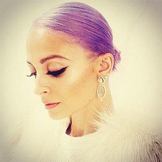 Nicole Richie Purple Hair Instagram Photo