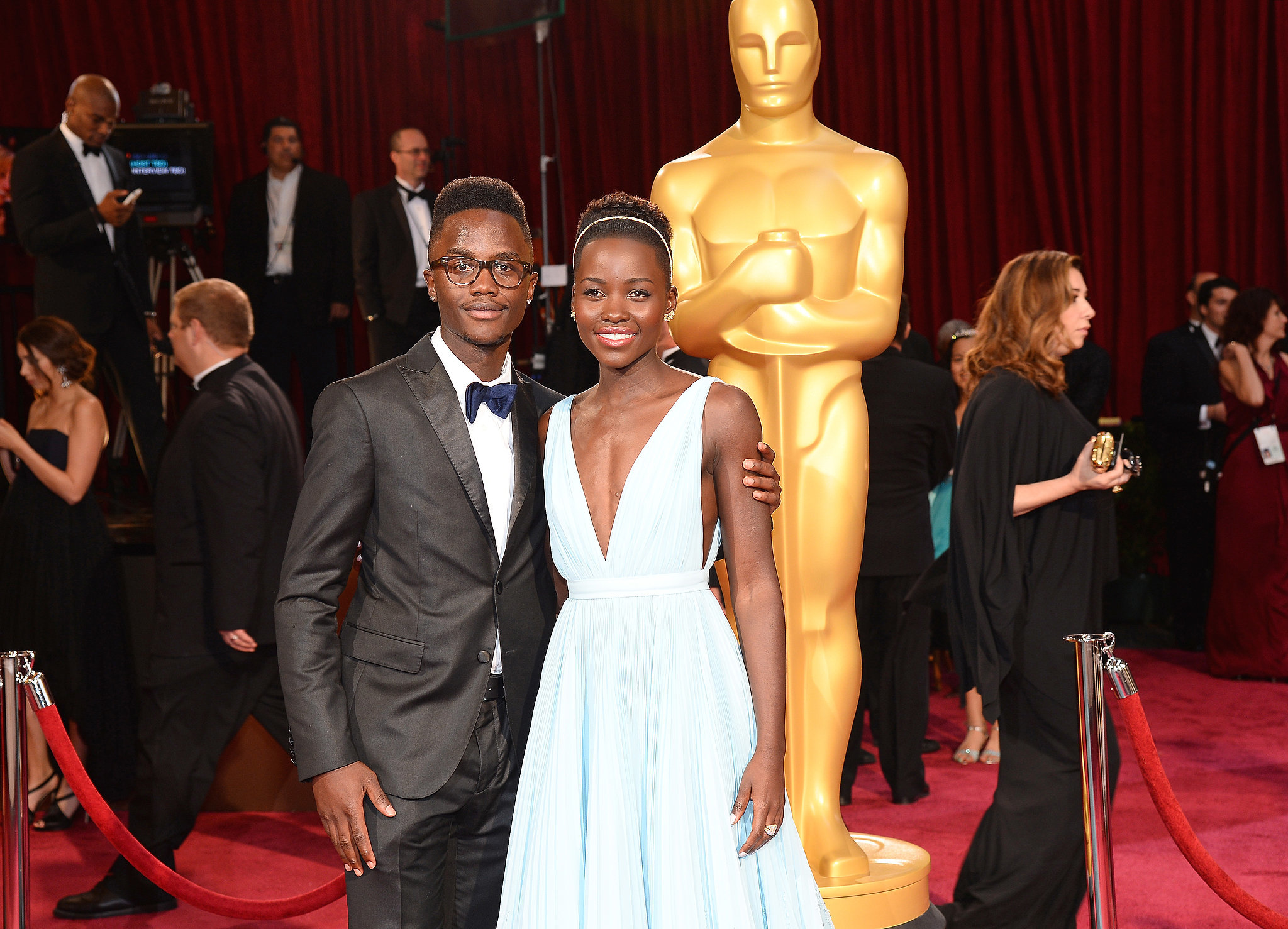 Best Featured Sibling in a Very Supportive Role: Peter Nyong'o