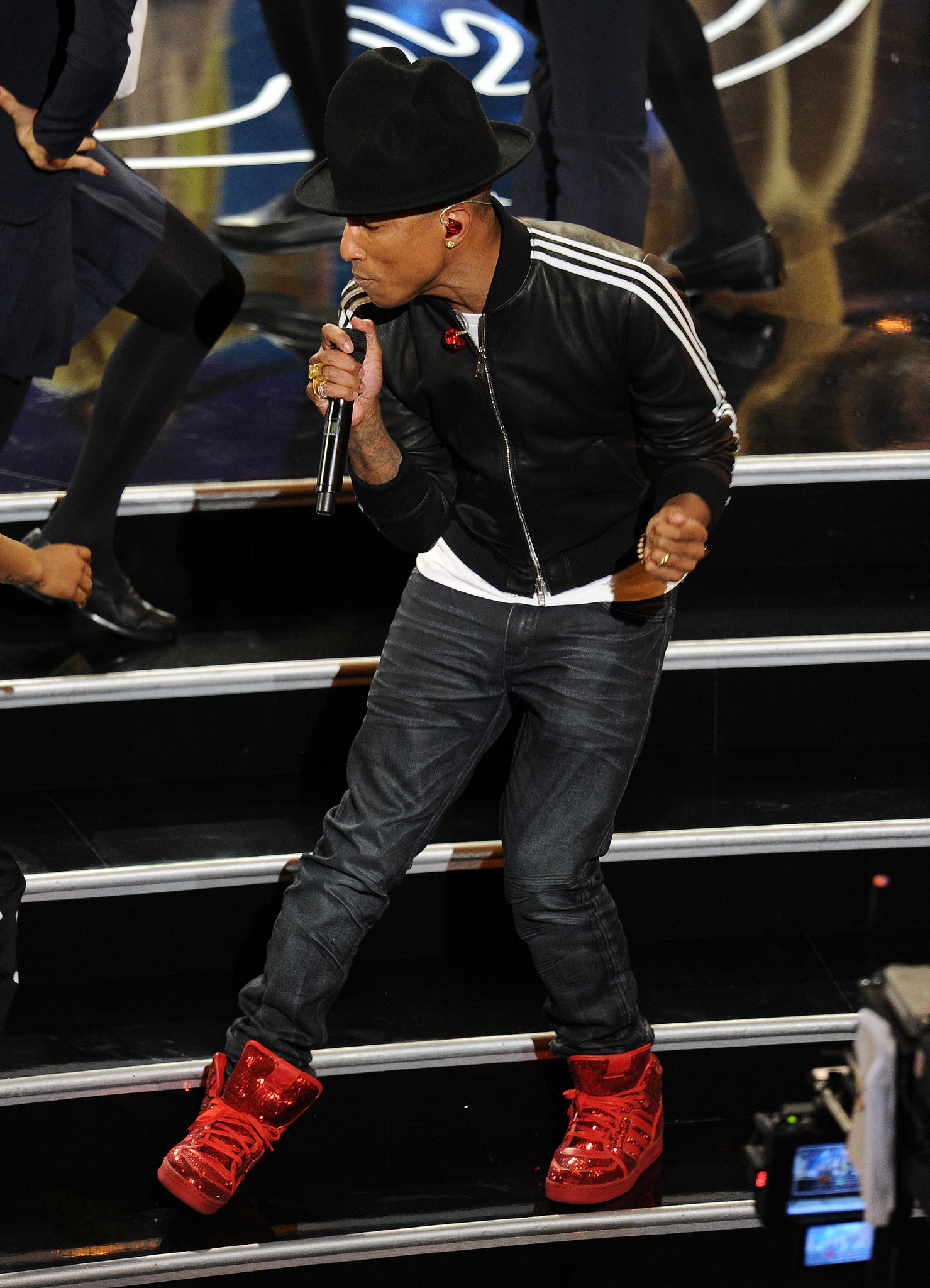 Best Secret Reference to the Wizard of Oz: Pharrell's Shoes