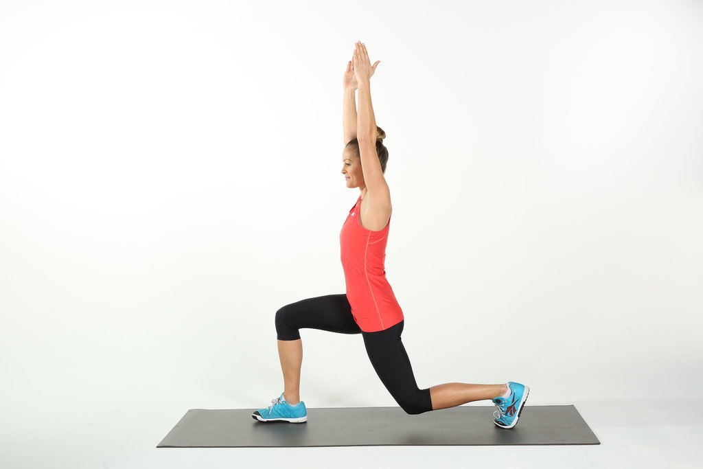 Knee Pain: Overhead Reverse Lunge