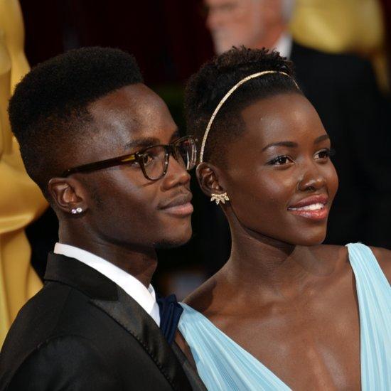 Lupita Nyong'o's and Brother Peter Nyong'o at Oscars