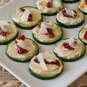 Hummus Sun-Dried Tomato Bites Recipe